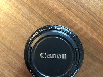 Rentals: Canon lens - EF 50mm f/1.8