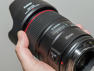 Rentals: Canon 35mm f/1.4L II USM