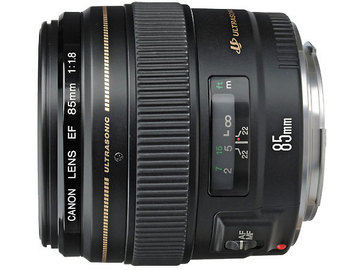 Rentals: Canon EF 85mm f/1.8 USM