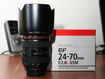 Rentals: Canon EF 24-70mm f/2.8 II