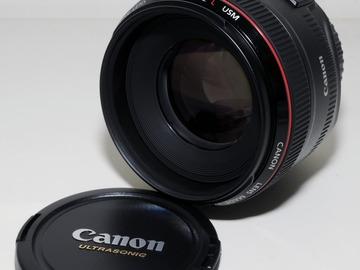 Rentals: Canon EF 50mm 1.2L USM