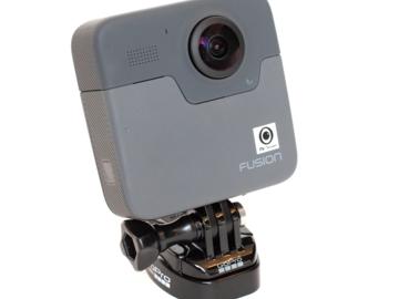 Rentals: GoPro Fusion Black - 360°-Kamera