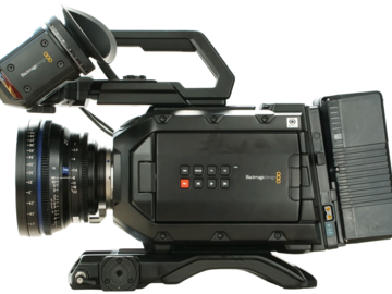 Rentals: Blackmagic URSA mini 4.6k