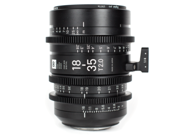 Rentals: Sigma EF HS Cine Zoom 18-35mm T2.0