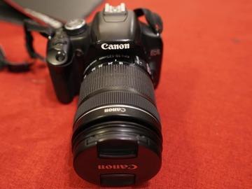 Rentals: Canon camera 500D