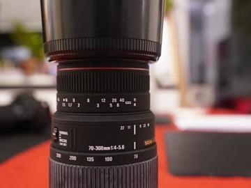 Rentals: Sigma 70-300mm f4-5.6 Macro DG