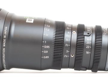 Rentals: Fujinon E MK 18-55mm T2.9 Cine Zoom