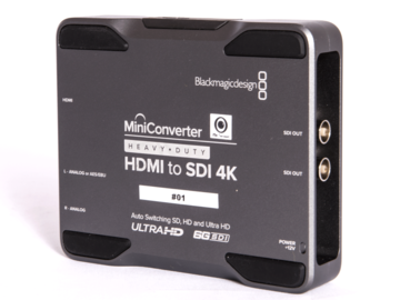 Rentals: Blackmagic Converter HDMI to SDI 4k