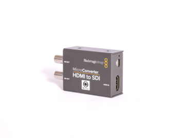 Rentals: Blackmagic MicroConverter HDMI / SDI