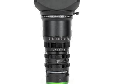 Rentals: Fujinon E MK 55-135mm T2.9 Cine Zoom