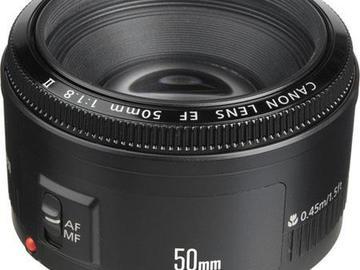 Rentals: Canon EF 50mm f/1.8 II