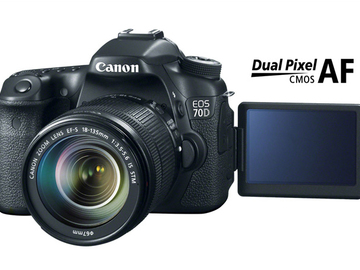 Rentals: Canon 70D with Lens 18 - 135