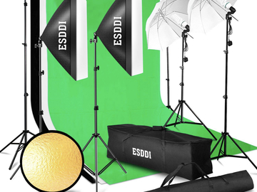 Rentals: Pro Photo Studio Kit