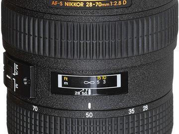 Rentals: Nikon 28-70mm f/2.8 AF-S ZOOM-NIKKOR