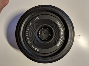 Rentals: Sigma 30mm F2.8 EX DN (for Sony E-mount APS-C cameras)