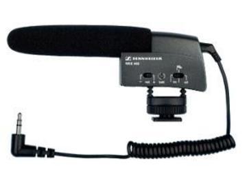 Rentals: Sennheiser MKE 400 Richtrohrmikrofon