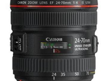 Rentals: Canon EF 24-70 mm/4,0 L IS USM