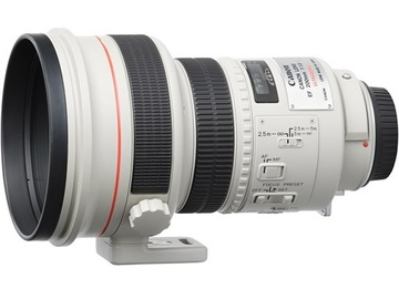 Rentals: Canon 200mm 1:1,8 L USM