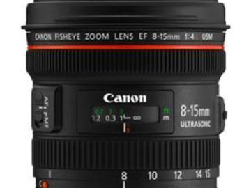 Rentals: Canon EF 8-15mm f/4 L Fisheye USM