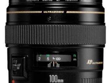 Rentals: Canon EF 2.0/100mm USM Objektiv