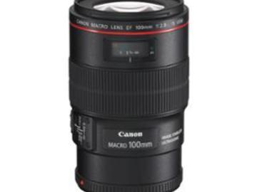 Rentals: Canon EF 100mm 2.8  Makro L IS USM Objektiv