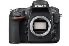 Rentals: Nikon D810 DSLR, 36,3MP