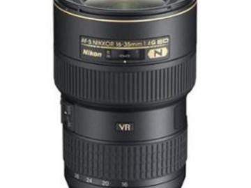 Rentals: Nikon AF-S Nikkor 16-35mm/4,0 G ED VR