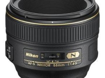 Rentals: Nikon AF-S 1,4/58mm G