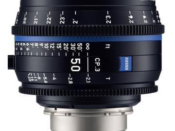Rentals: Zeiss Cine Objektiv 50mm T2.1 EF