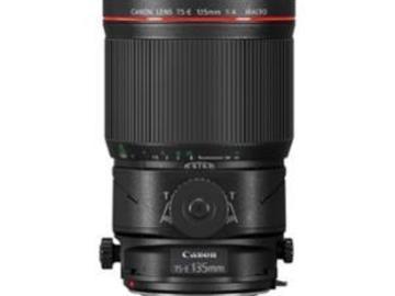Rentals: TS-E 135mm /4,0L Macro Tilt Shift Objektiv