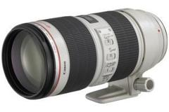 Rentals: Canon EF 70-200mm f/2.8L IS II USM