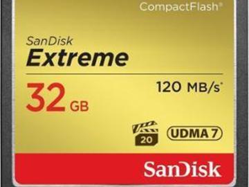 Rentals: 32 GB CF Karte