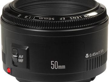 Rentals: Canon 50mm 1.8