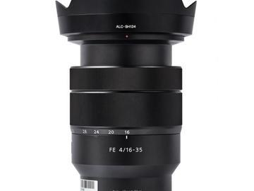 Rentals: Sony Lens 16-35mm/4,0 ZA OSS Vario-Tessar T* FE Zeiss