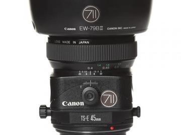 Rentals: Canon Lens TSE 45mm 2,8 Shift