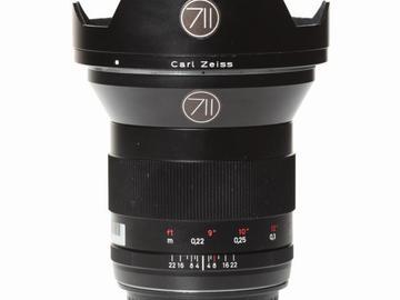 Rentals: Canon Lens Zeiss ZE 2,8/21mm
