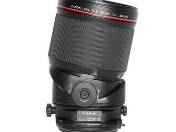 Rentals: Canon EF TSE 135mm 4L Macro