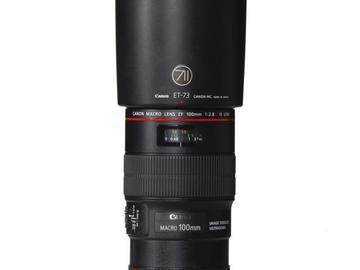 Rentals: Canon Lens EF 100mm 2,8  L IS USM Macro