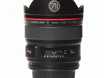 Rentals: Canon Lens EF 14mm 2,8 LII