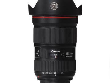 Rentals: Canon Lens EF 16-35mm 2,8 LIII USM