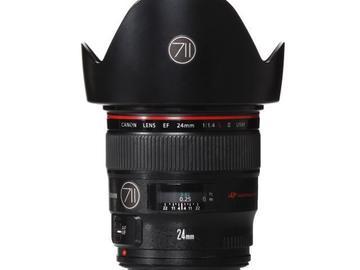 Rentals: Canon Lens EF 24mm 1,4 LII USM