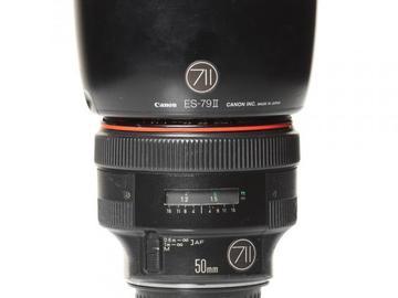 Rentals: Canon Lens EF 50mm 1,0  L USM
