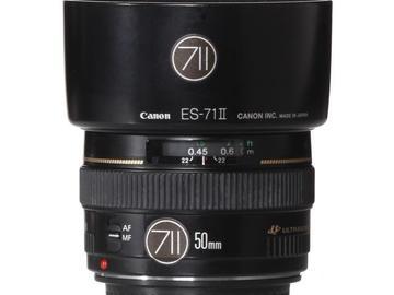 Rentals: Canon Lens EF 50mm 1,4