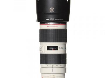 Rentals: Canon Lens EF 70-200mm 2,8 ISII USM