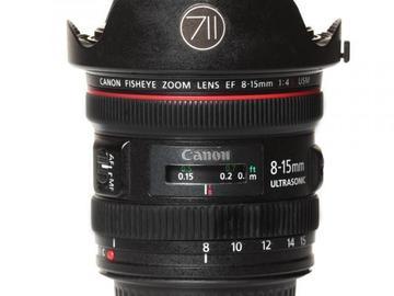 Rentals: Canon Lens EF 8-15mm 4,0 L Fisheye USM