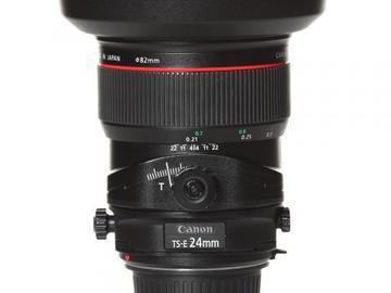 Rentals: Canon Lens TSE 24mm 3,5 Shift LII