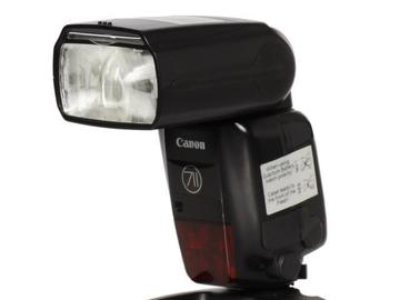 Rentals: Canon Speedlite 600EX II-RT