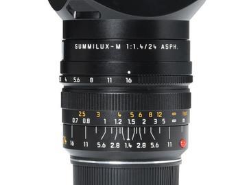 Rentals: Leica Summilux-M 24mm 1,4 Asph.