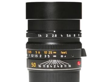 Rentals: Leica Summilux-M 50mm 1,4 Asph.