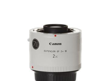 Rentals: Canon Extender/Converter 2,0 III